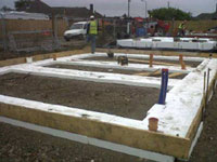 3. Installation of Insulslab